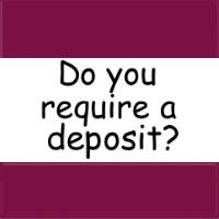 Do you need to leave a deposit?
